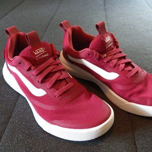 Vans Ultrarange Shoes (Maroon): Men's 9